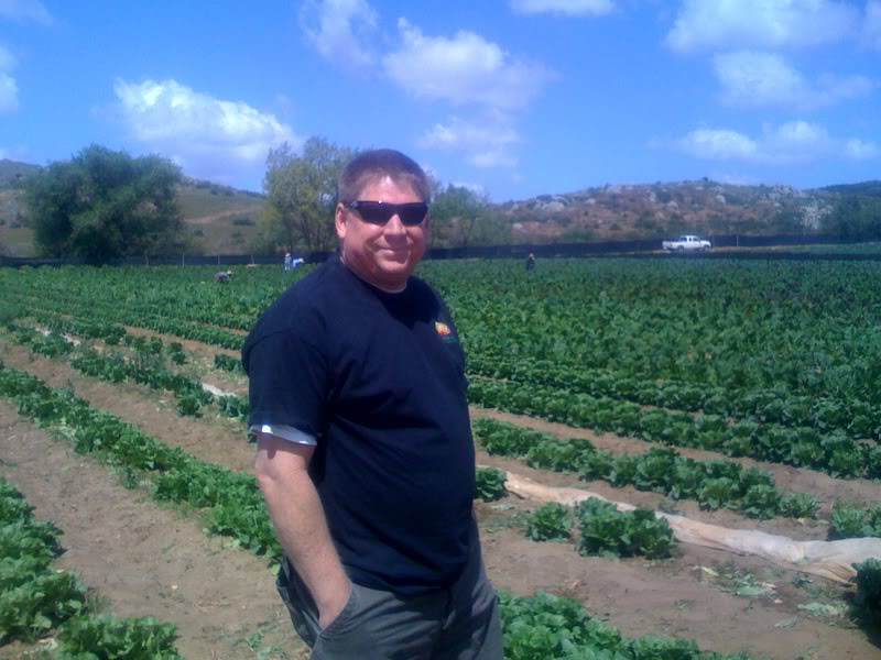 Andy, produce manager of Jimbos Del Mar